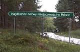 Oto najdłuższe nazwy miejscowości w Polsce
