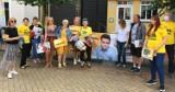 Na człuchowskim i chojnickim Rynku wolonatriusze rozmawiali z mieszkańcami o kandydacie na prezydenta - Szymonie Hołowni