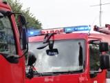 Chrzanów. Pożar samochodu ciężarowego na autostradzie A4