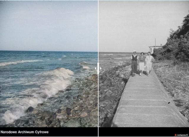 Powiat pucki i okolice: tak było w latach 20. i 30. Jak fotki z dawnych czasów wyglądają w kolorze? Kliknij strzałkę z prawej strony (lub na klawiaturze) i przejdź do naszej galerii: