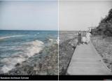 Powiat pucki i okolice: tak było w latach 20. i 30. Jak fotki z dawnych czasów wyglądają w kolorze? Przesuń suwak i zobacz cz. 1 | ZDJĘCIA