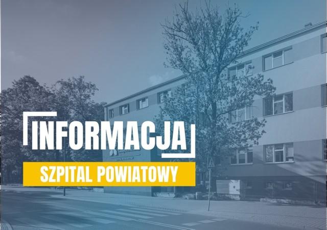 Izba przyjęć w Szpitalu Powiatowym ZOZ Świętochłowice została w sobotę, 21 marca zamknięta.