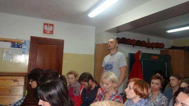 Starosta powiatu na spotkaniu z pracownikami Zespołu Placówek Specjalnych w Pleszewie