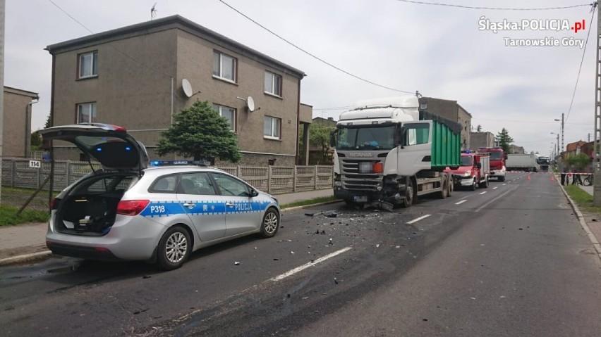 Śmiertelny wypadek w Wieszowej w pow. tarnogórskim. Nie żyje 68-letni mieszkaniec Zabrza
