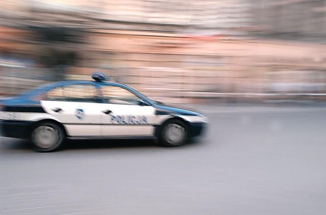 Policja dostała zgłoszenie, że 30-latek chce się podpalić