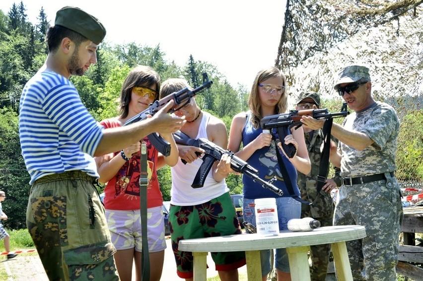 Militaria w boguszowskiej leśniczówce