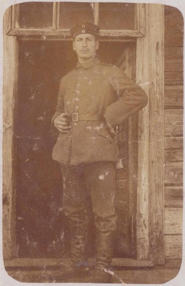 Władysław Chojan. Front wschodni. Luty 1915 r.