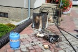 Pożar domu na ulicy Słonecznej w Sypniewie. Mamy zdjęcia z akcji strażaków