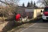 Tragiczny wypadek w Krępie w gminie Poddębice. Dwie ofiary śmiertelne, dwie osoby ranne (zdjęcia)