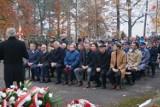 Święto 11 listopada w Lublińcu. Władze i mieszkańcy złożyli hołd na cmentarzu wojskowym
