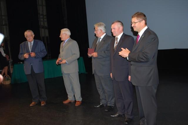 Od lewej: Andrzej Zawicki, Michał Leszczyński, Jacek Zieliński, Zbigniew Rybka i Jan Zubowski