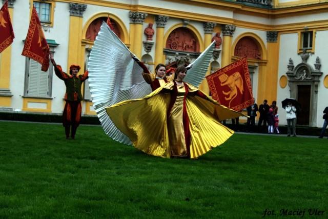 Pokazy podczas IV Festiwalu Chorągwi