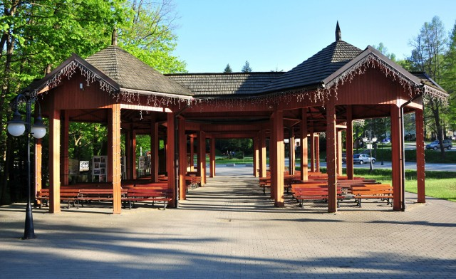 Amfiteatr w Parku nad Czarnym Potokiem