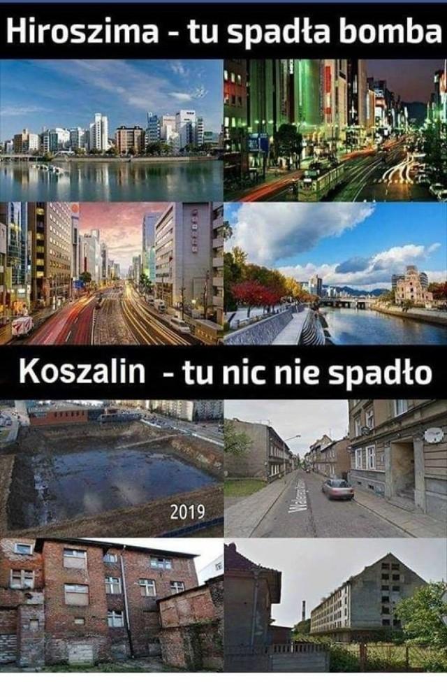 Najnowsze memy o Koszalinie. Internet nie przestaje się śmiać