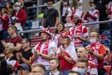 ME siatkarzy 2021. Kibice na meczu Polska - Portugalia w Tauron Arenie Kraków. Znajdź się na zdjęciach [GALERIA]