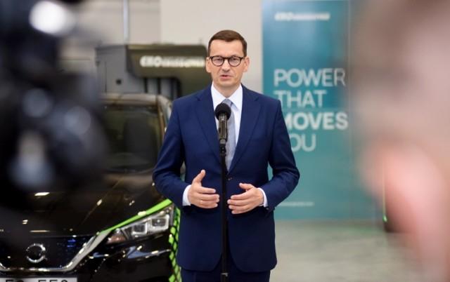 Premier Mateusz Morawiecki odwiedził Zieloną Gorę