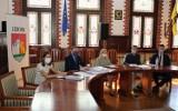 Spotkanie przedstawicieli MOF w ratuszu. Dyskutowano o ścieżkach rowerowych