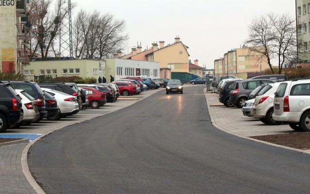 Wyremontowany został pierwszy fragment ulicy Jackowskiego w Grudziądzu