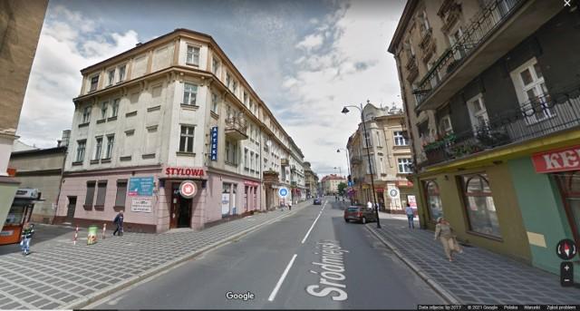 Śródmieście Kalisza w Google Street View