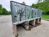 Wandale niszczą skatepark w Kluczborku [ZDJĘCIA]