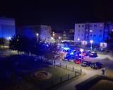 Nowy Tomyśl. Zgłoszono pożar na balkonie jednego z bloków na osiedlu Północ