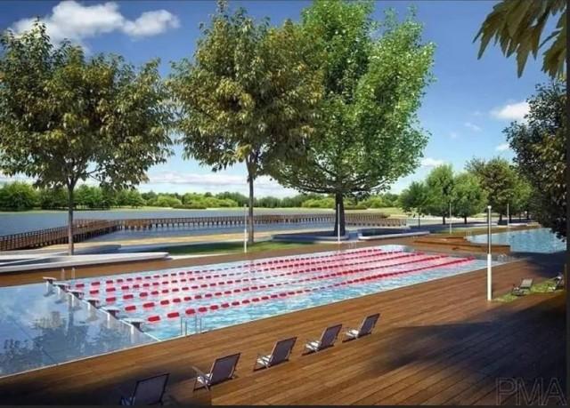 Tak ma wyglądać kompleks kąpielowy przy ul. Korfantego w Brzegu.