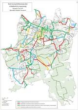 14 kilometrów nowych dróg rowerowych w 2019 w Katowicach. Gdzie? MAPA