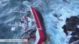Akcja ratunkowa na Morzu Norweskim. Wojsko wyłowiło pięciu rybaków (wideo)