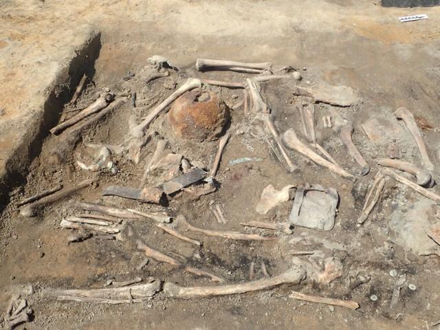 W Luszkowie podczas budowy drogi ekspresowej S5 natrafiono na szczątki 13 czerwonoarmistów