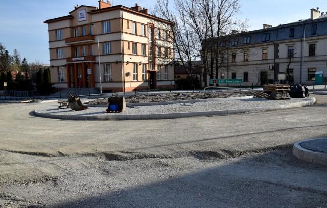 Tak wygląda rondo przy ul. Lubelskiej 28 kwietnia.
