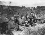 Inscenizacja walk Polaków z bolszewikami w Ossowie