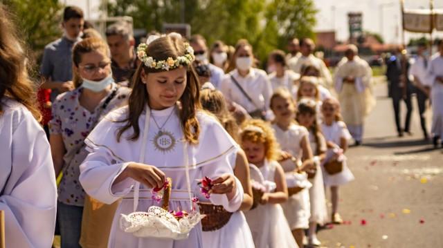 Zobaczcie zdjęcia z procesji na inowrocławskim Rąbinie