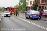 Potrącenie na przejściu dla pieszych w Kostrzynie. Doszło do niego przed jednostką straży pożarnej