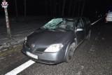 Lubartów. Dwa wypadki na powiatowych drogach, nie żyje jedna osoba