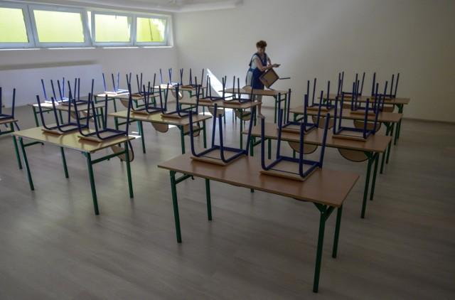 W Szkole Podstawowej nr 8 w Gdańsku trwają prace związane z przygotowaniem świetlicy
