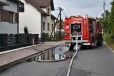 Krzykawa. Wszystkie służby na nogach. Wyciek gazu w jednym z domów. Na miejscu pracowała straż pożarna oraz pogotowie gazowe [ZDJĘCIA]