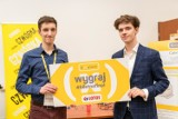 Bernard Cesarz w finale Konkursu Naukowego E(x)plory! Projekt jego autorstwa i dwójki kolegów zwyciężył w internetowym głosowaniu