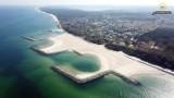 Najpiękniejsza sztuczna plaża w Polsce. Mamy polski Dubaj ZDJĘCIA