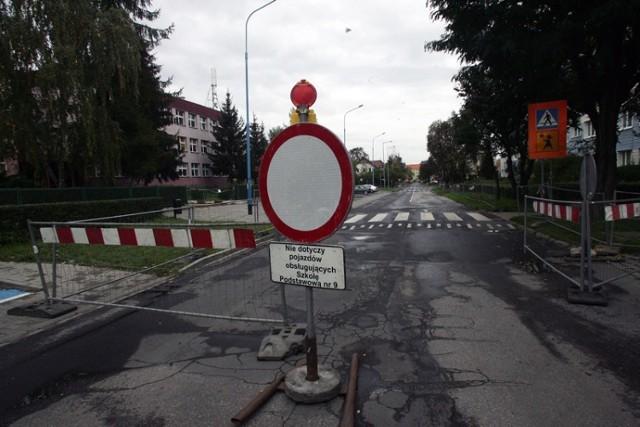 Remont ulicy Marynarskiej w Legnicy
