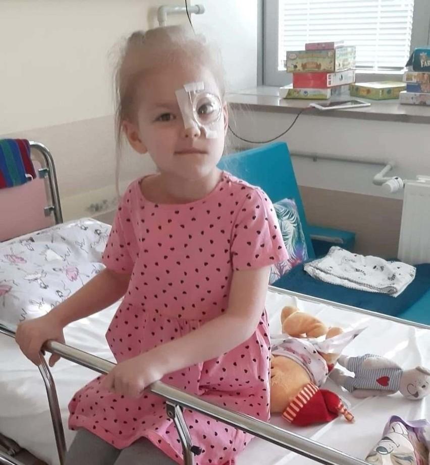 Nina z Gostchorza walczy z nietypowym nowotworem pnia mózgu...