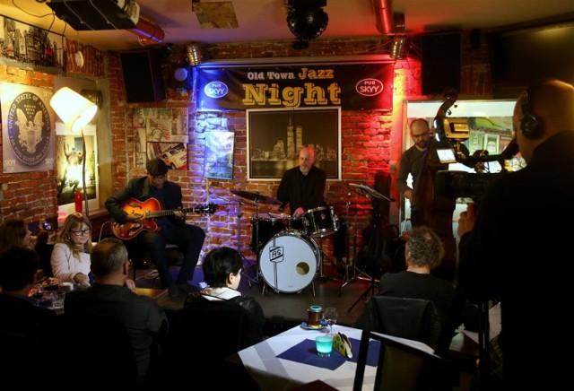Jazzowy koncert w Skyy Pubie w Piotrkowie