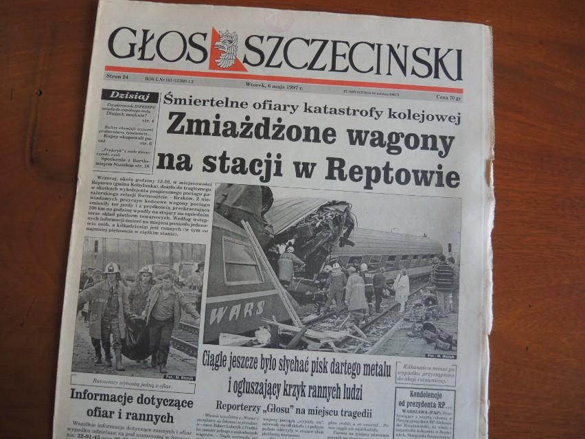 Głos Szczeciński w maju 1997 roku opisywał tragiczne...