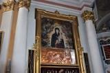 Parafia pw. NMP Wniebowziętej w Zbąszyniu. Odsłonięcie i zasłonięcie obrazu Matki Bożej Różańcowej - 23.05.2021