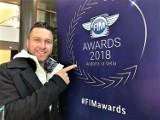 Żużlowiec Falubazu - Martin Smolinski - uhonorowany na gali motocyklowych mistrzów świata