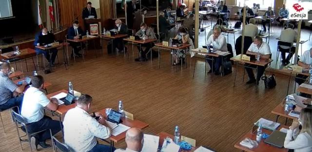 Sanepid kwarantanną objął wszystkich uczestników sesji - radnych, urzędników, sołtysów i ich rodziny