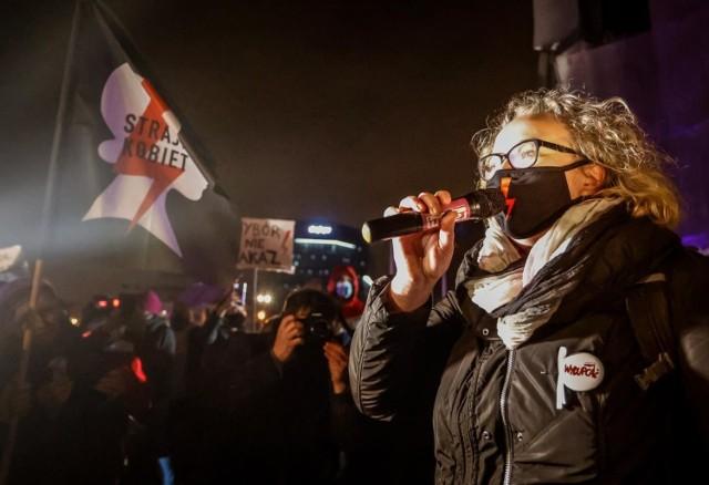 Strajk Kobiet na Placu Solidarności 08.11.2020.