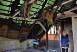 Ratujmy Przystań Liliany w Straszynie. Pożar zniszczył dom. Mieszkają teraz na 12 metrach z 9 psami  ZDJĘCIA
