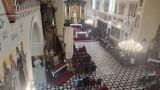 Piotrków w czerwonej strefie: Pierwsza niedziela w kościele św. Jakuba (fara) z nowymi obostrzeniami