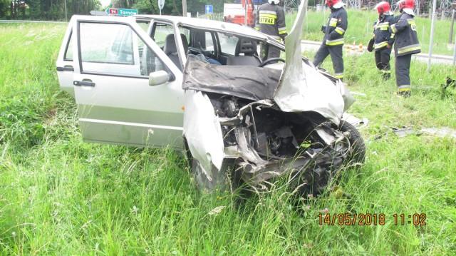 Trzy osoby ranne w wypadku na ulicy Wiśnickiej w Bochni