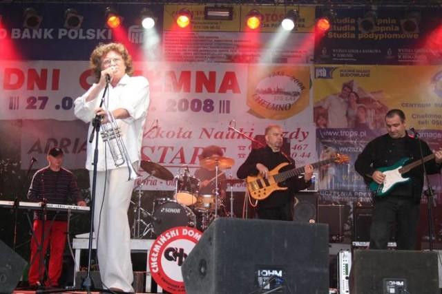 Zbigniew Wodecki wystąpił w 2008 roku dla chełmińskiej publiczności, teraz będzie w Brukach Unisławskich